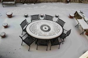 Bien nettoyer ses meubles de jardin avant l hiver le - Nettoyer plastique voiture vinaigre ...