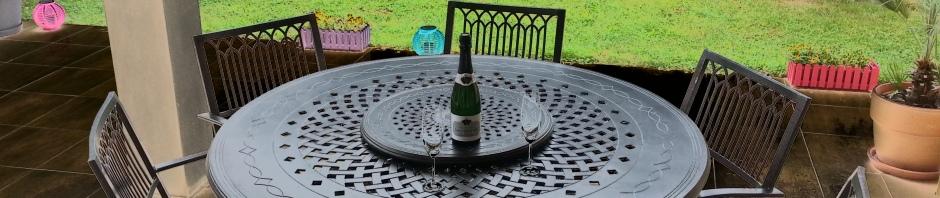 Comparatif tables de jardin à plateau tournant   Le Blog de ...