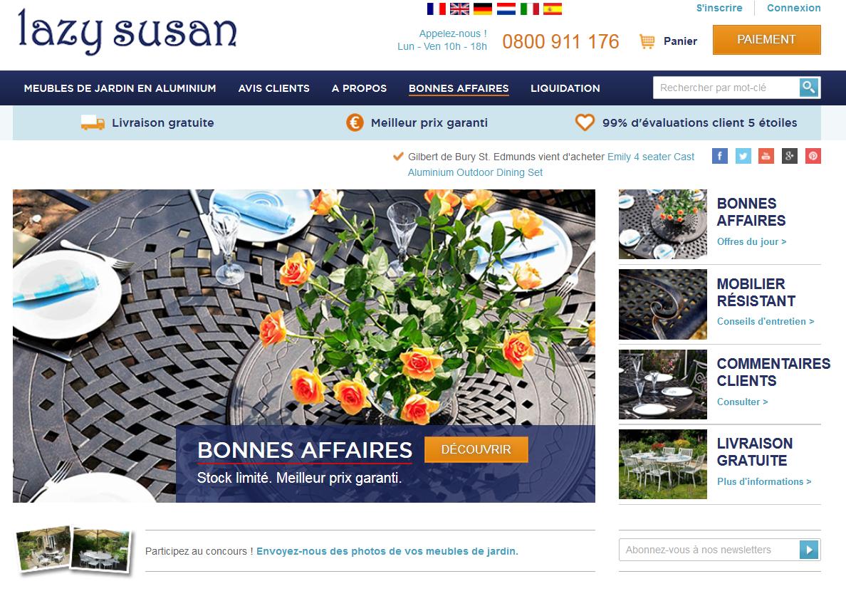Nouveau site internet notre enqu te de satisfaction le blog de lazy susan - Acheter des meubles sur internet ...